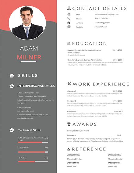 professional bpo career resume