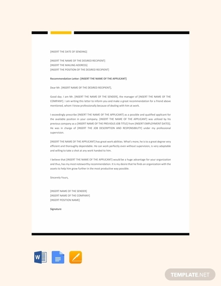 recommendation letter1