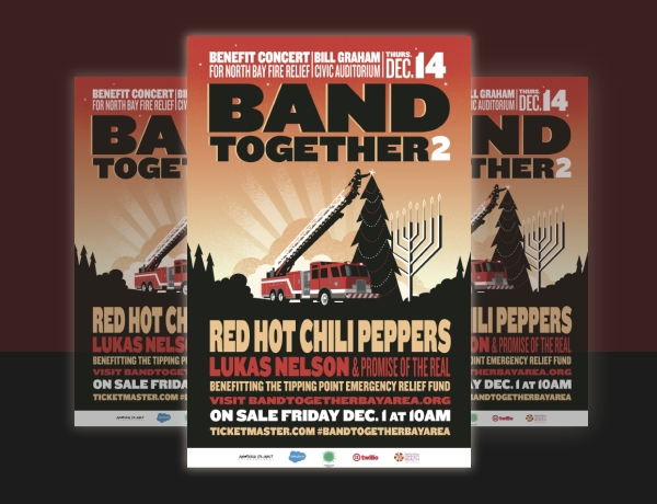 Red Hot Chili Peppers Music Flyer