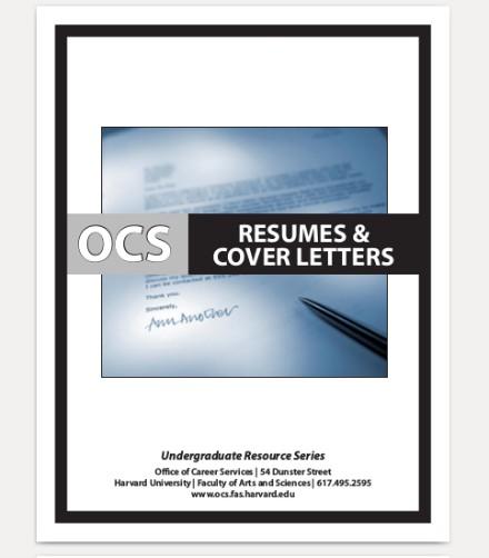 resume cover letter for undergrad sample