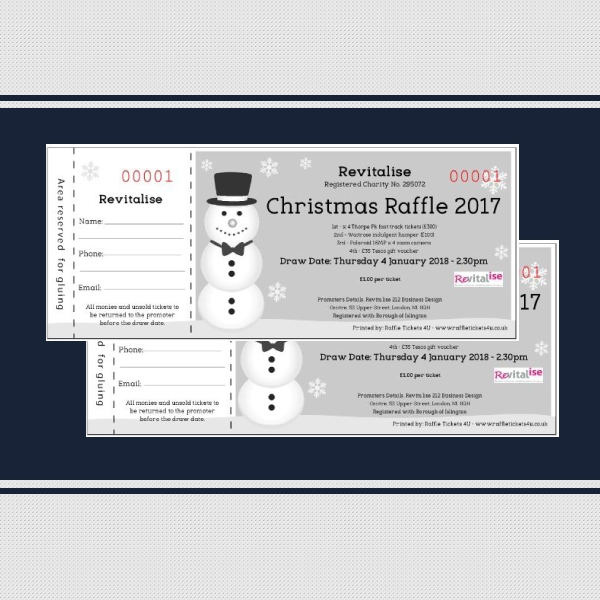 revitalise raffle ticket example