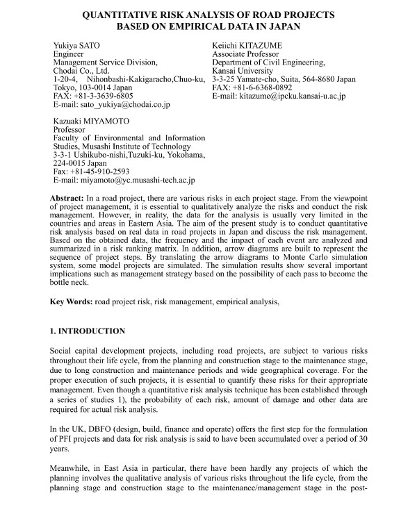 8+ Quantitative Risk Analysis Examples- PDF, Word | Examples