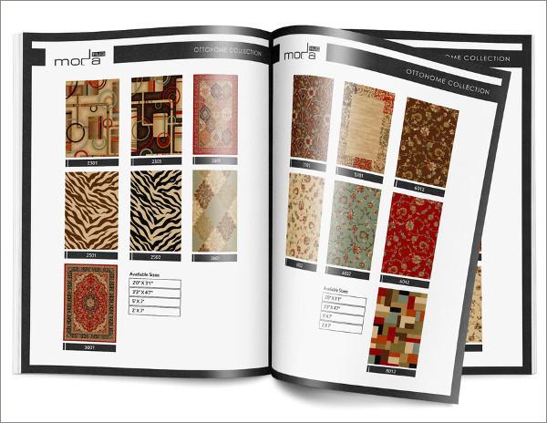 rug catalog example