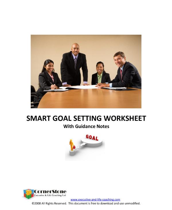 smart business goal setting worksheet example1