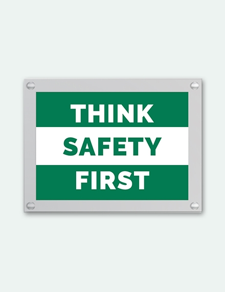 safety sign template