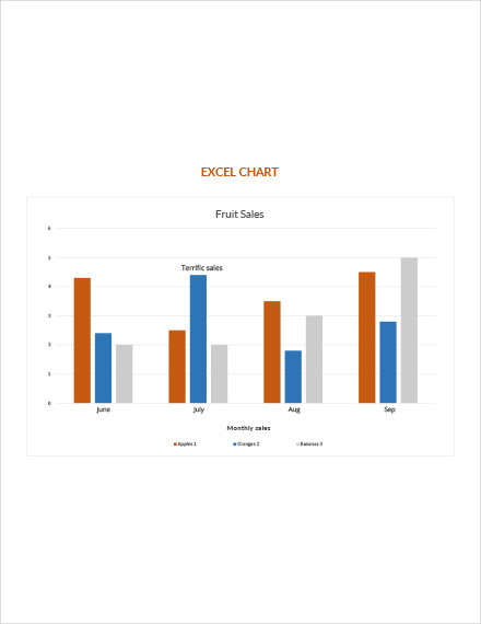 sales excel chart template1