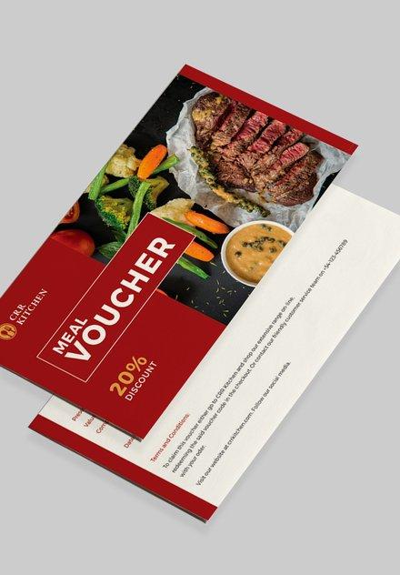 sample meal voucher