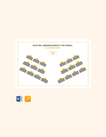 Seating Arrangements for Small Classrooms