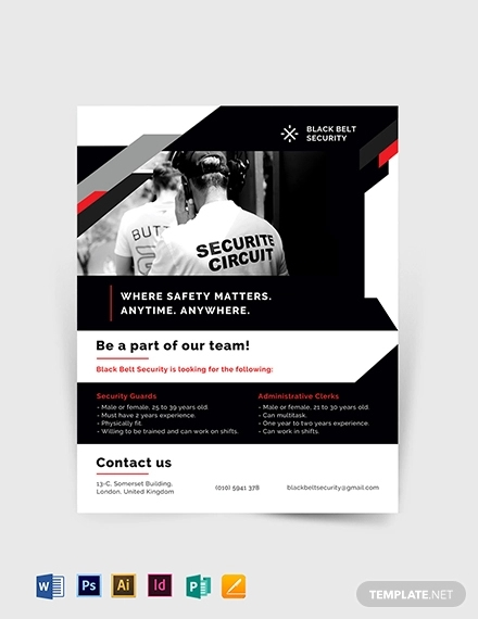security flyer