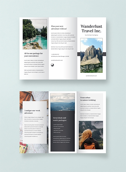 Simple Travel Brochure