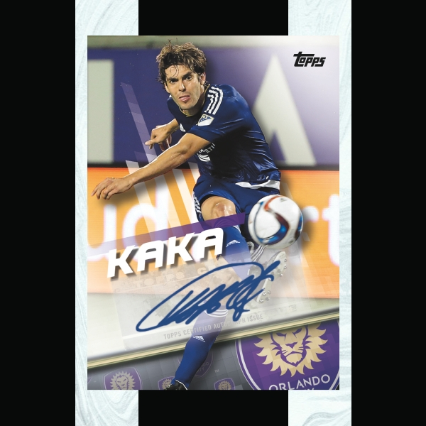 soccer trading card example