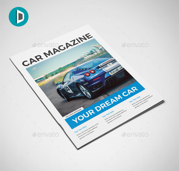 sports car magazine example1
