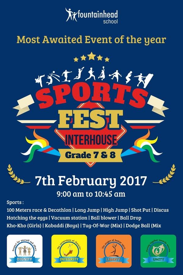sports fest invitation
