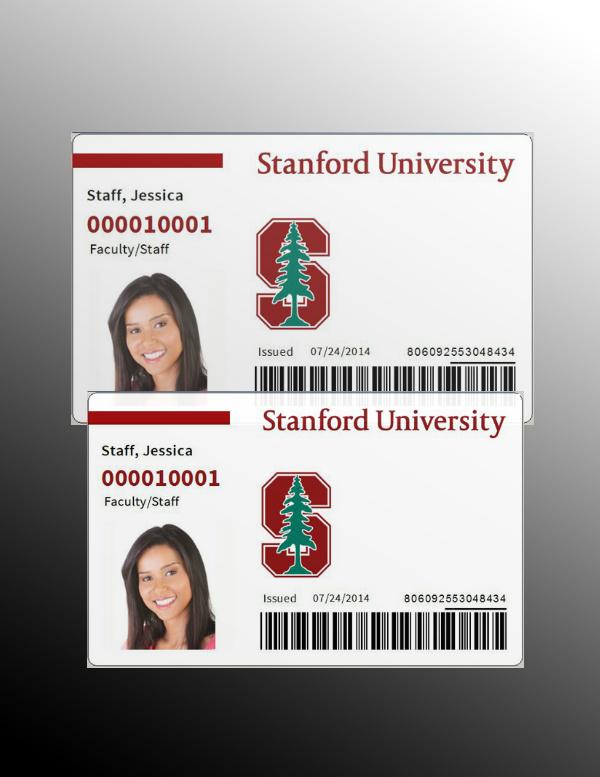 standford universtiy id card