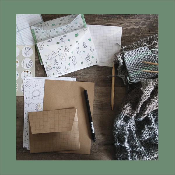 statinoery envelop designs