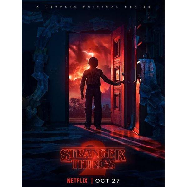 Stranger Things Halloween Poster