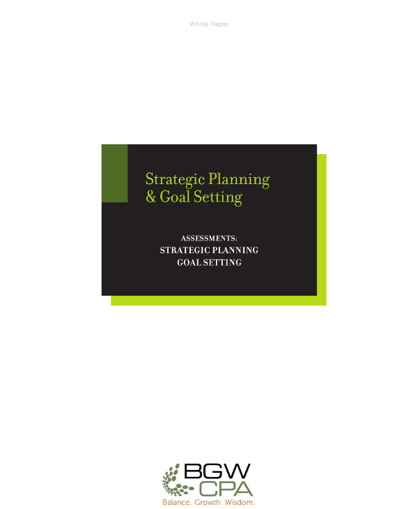 strategic planning and goal setting example1
