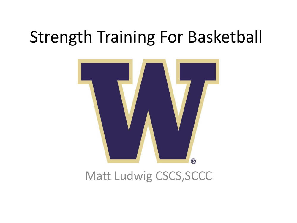 strength training for basketball workout planner example