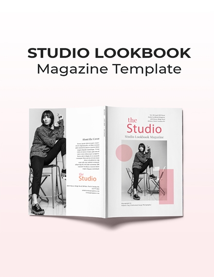 studio magazine sample