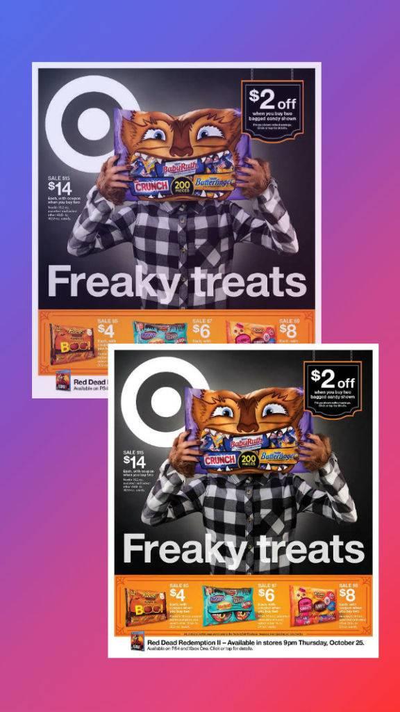 target halloween weekly ad flyer 576x1024