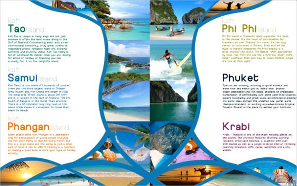 thailand travel brochure