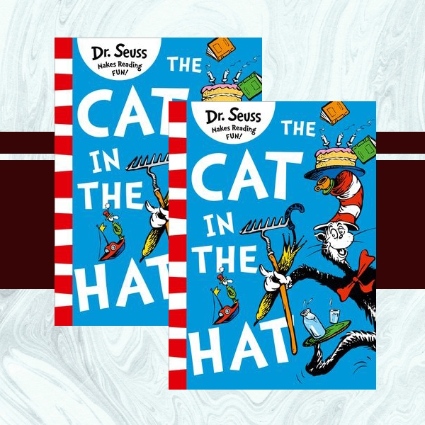 the cat in the hat childrens book cover