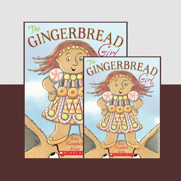 The Gingerbread Girl Children's Book Cover