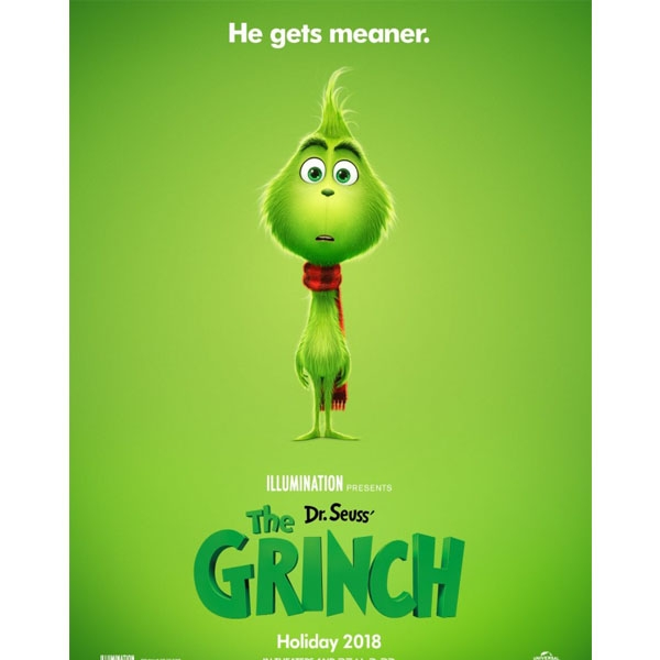 The Grinch Christmas Poster