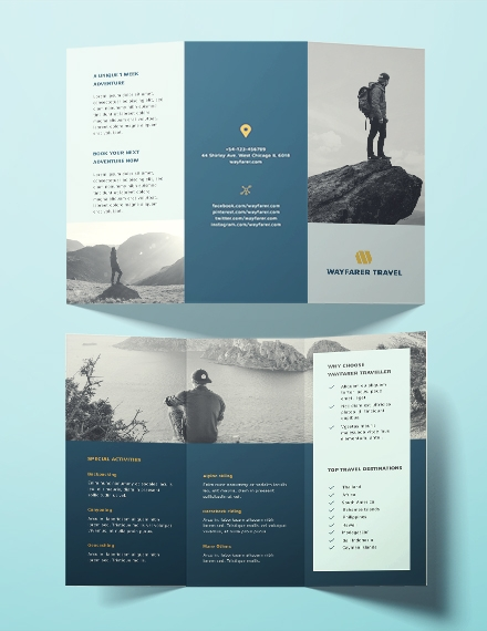 travel brochure template1
