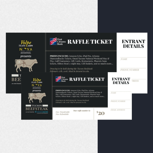 tucson beefsteak super raffle ticket
