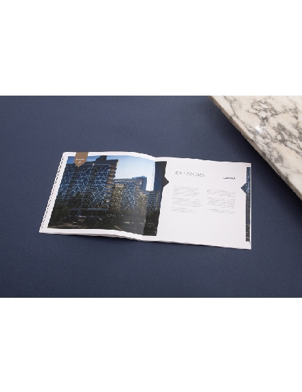 waterbay project advertising brochure