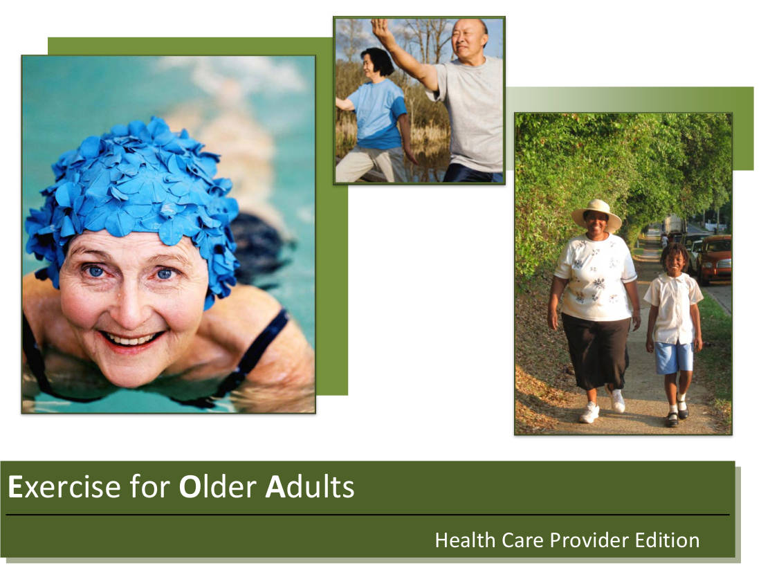 workout planner example for older adults