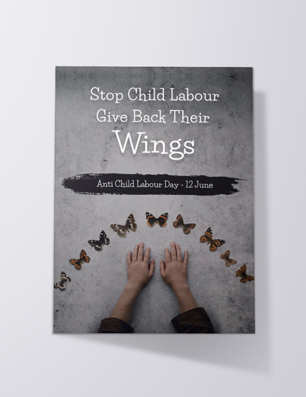 world day against child labour event invitation