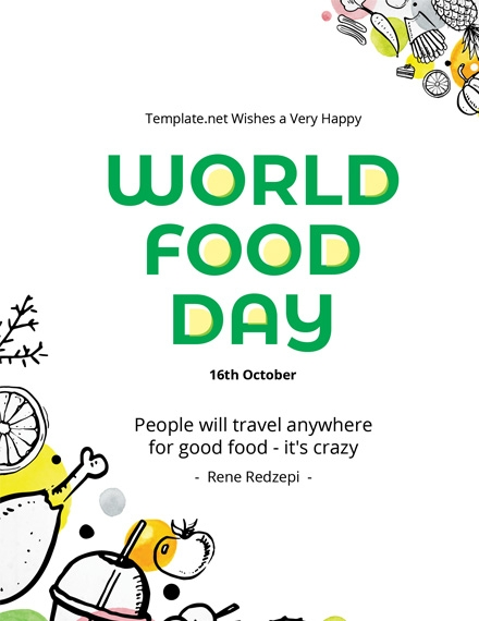 world food day template