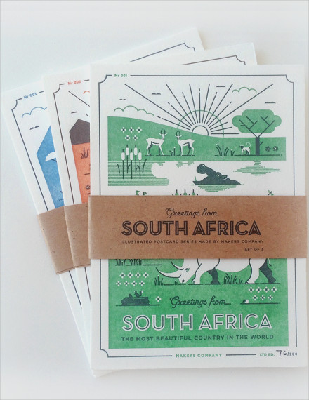 african postcards