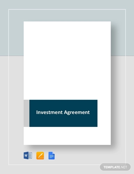 investement agreement