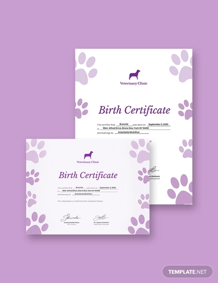 pet birth