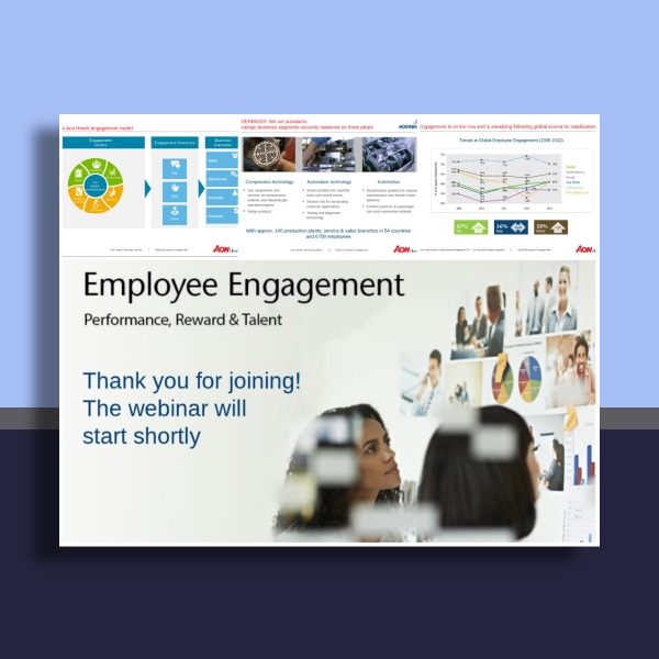 aon employee engagement presentation
