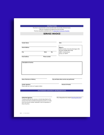 accounting service invoice1
