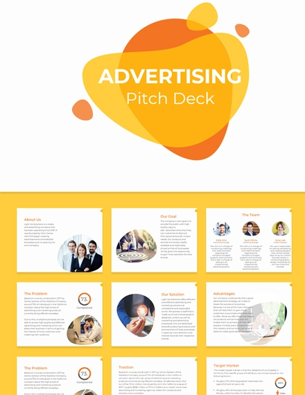 advertising pitch deck