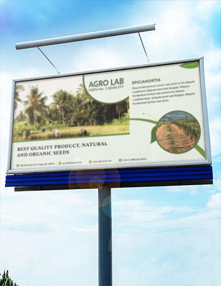 agriculture billboard banner