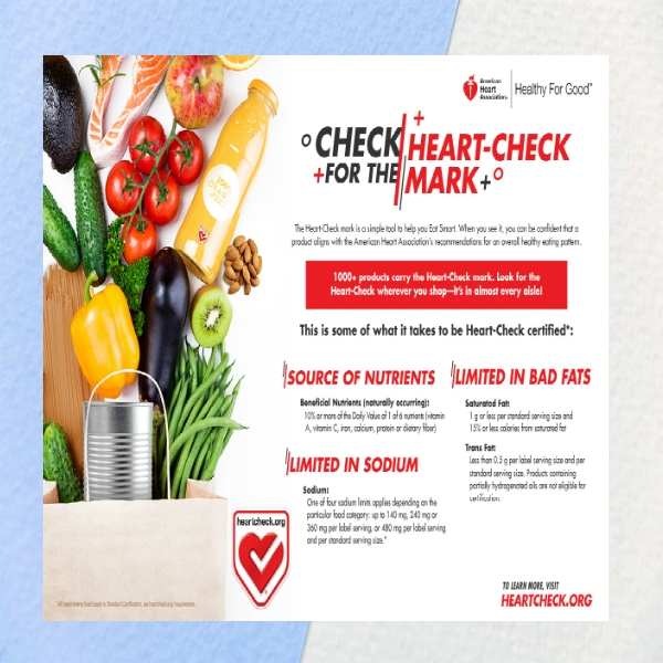 american heart association healthy eating flyer