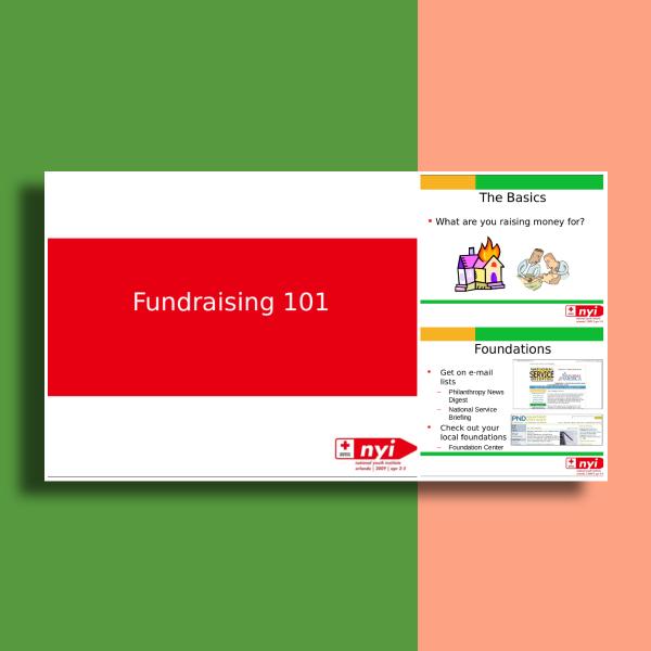 american red cross fundraising presentation