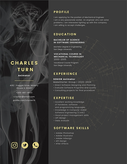 14 Creative Resume Examples Templates In Word Pages Publisher Psd Ai Indesign Examples