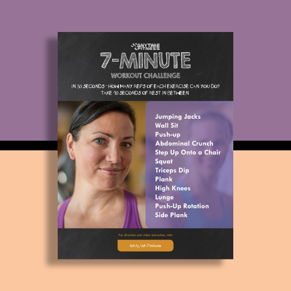 Anytime Fitness Workout Flyer