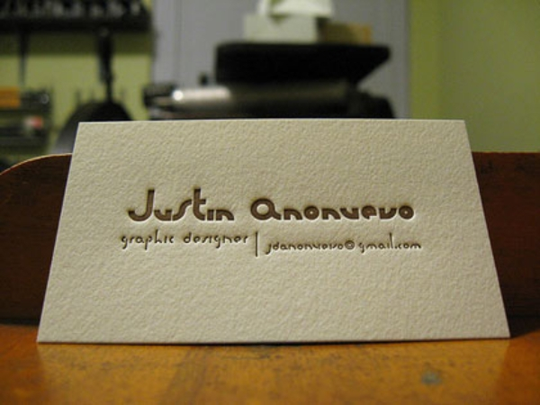 artsy business card 1