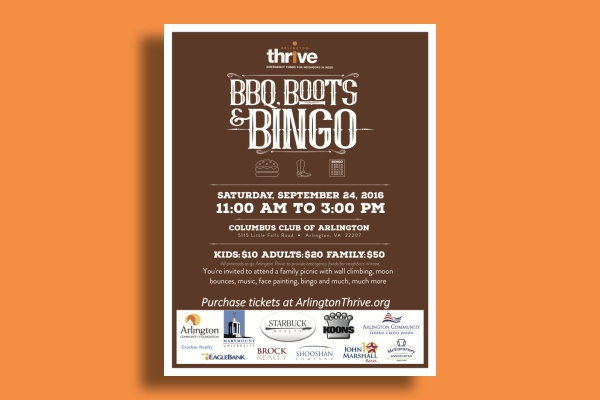 bbq sponsorship event flyer