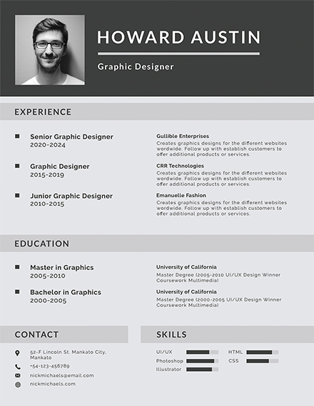 Basic Resume Template1