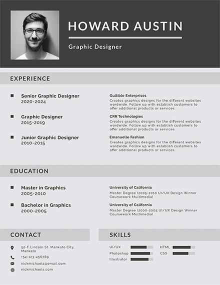basic resume template1