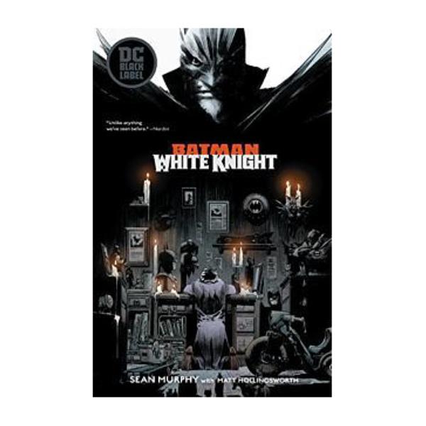 batman white night comic book cover